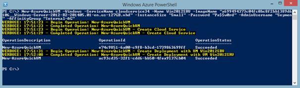 Azure PowerShell Başlangıç Adımları