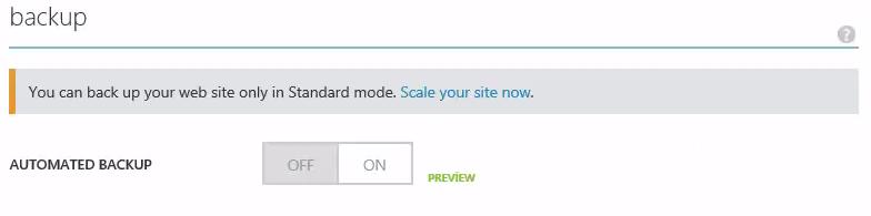 Scale Azure Website