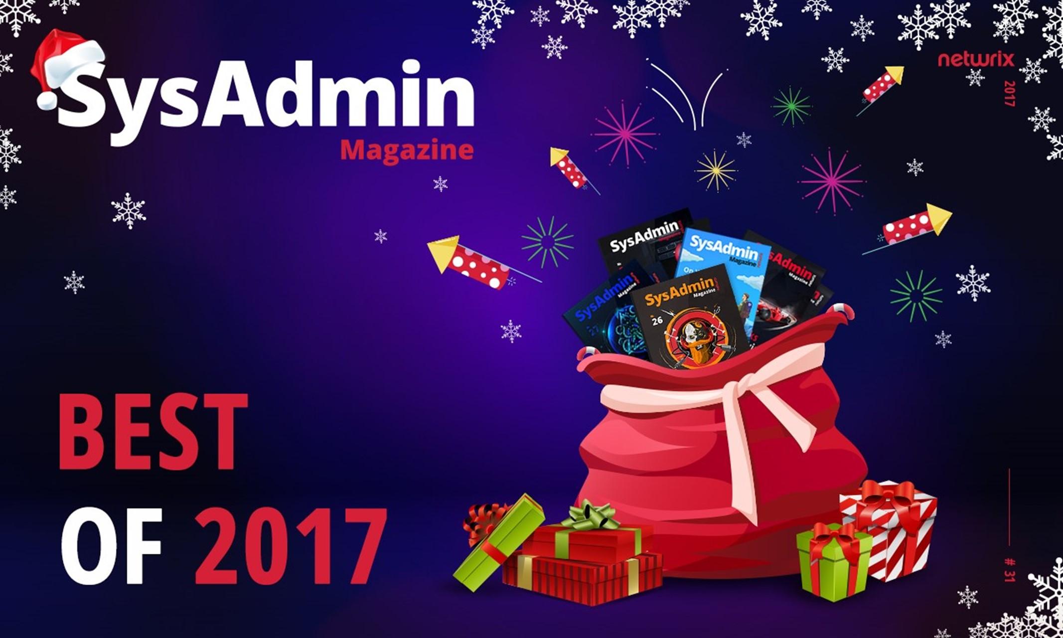 SysAdmin 2017 Year