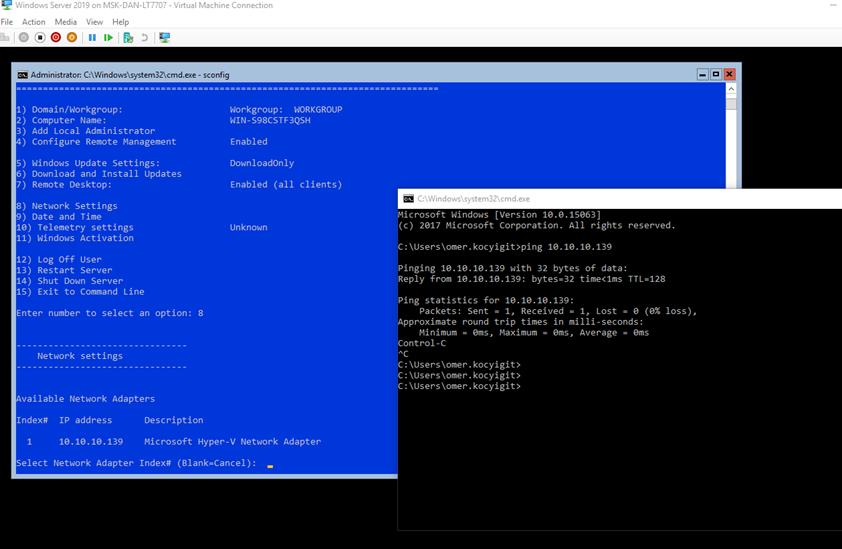 Windows Server 2019 + Honolulu Project | Ömer Koçyigit IT Blogs