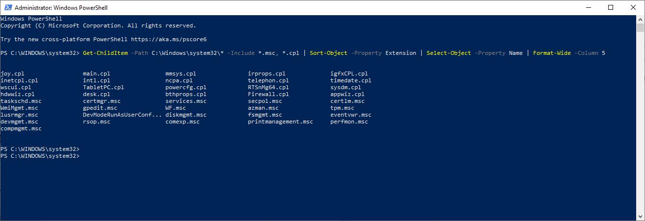 Windows Sık Kullanılan MMC Komutları